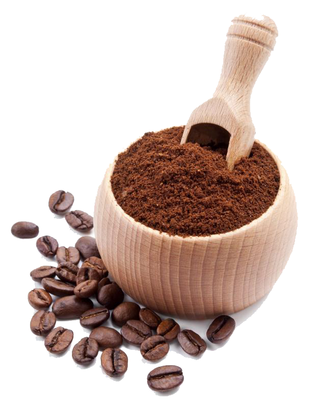 ground-coffee-and-coffee-beans